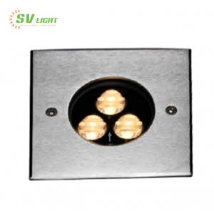 Đèn led âm sàn vuông 6W SVO-A6706V