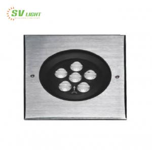 Đèn led âm sàn vuông 12W SVO-A6712V
