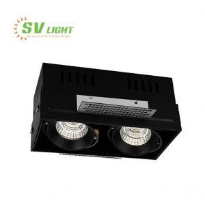 Đèn led đôi không viền 2x10W, 2x15W, SVF-1055