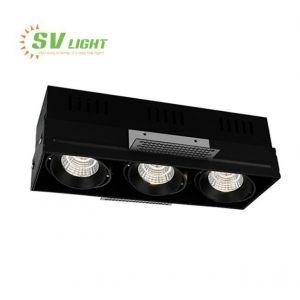 Đèn led không viền 3x10w, 3x15w SVF-1056