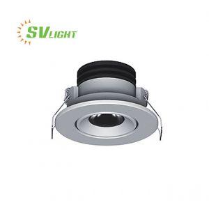 Đèn led âm trần spotlight mini 3W SVC-4545A Đèn Svlight