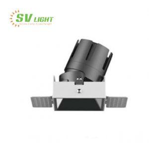 Đèn led âm trần Spotlight vuông 6W 9W 12W 15W SVC-76VK1