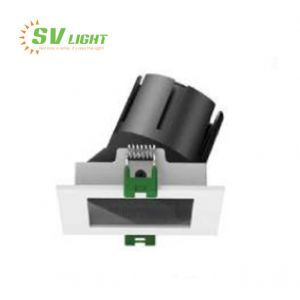 Đèn led âm trần vuông chống ẩm 6W 9W 12W 15W SVC-7654V