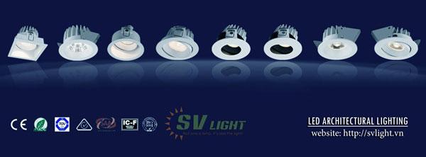 svlight cung cấp đèn led âm trần cao cấp