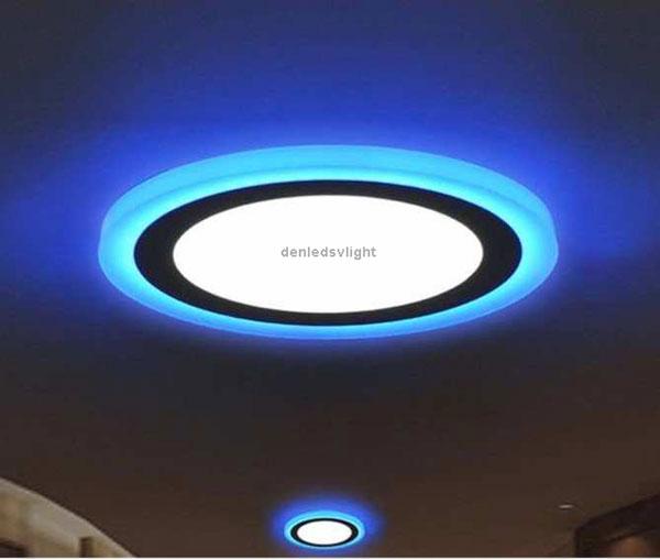 ứng dụng đèn led âm trần mặt kính